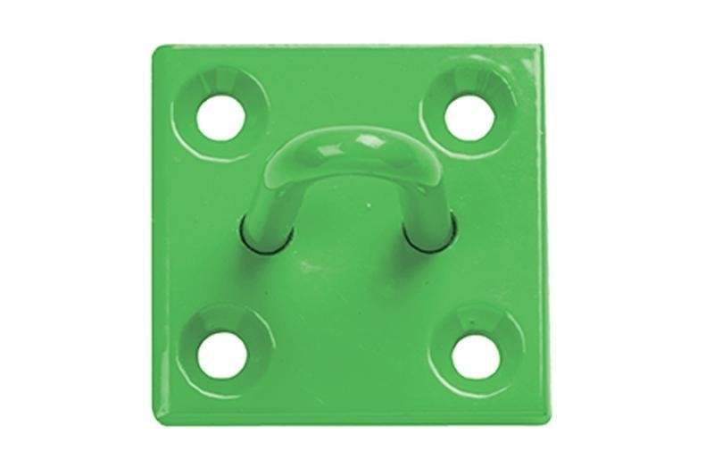 Stall Guard on Plate in Green