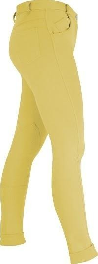 HyPerformance Melton Ladies Jodhpurs Canary - 28