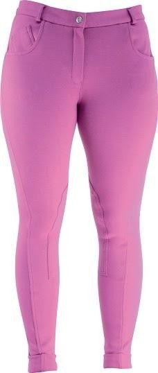 HyPerformance Melton Ladies Jodhpurs Fuchsia - 28