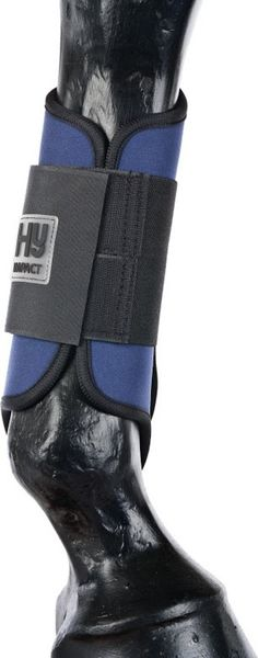 HyImpact Brushing Boots Large Navy