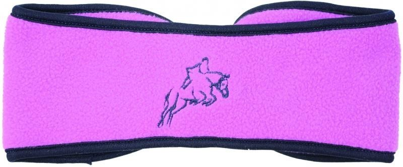 Hy Fleece Horse Head Band Pretty Pink