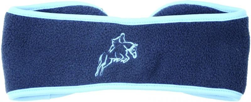 Hy Fleece Horse Head Band Navy