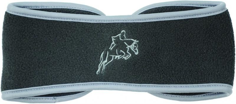Hy Fleece Horse Head Band Black