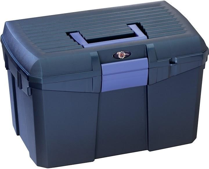 Tack Box - Medium - Midnight Blue