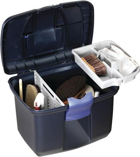 Tack Box - Large - Midnight Blue