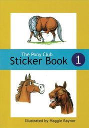 The Pony Club Sticker Book 1