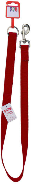 "Red Braided Dog Lead 48"" x 9mm image #1"