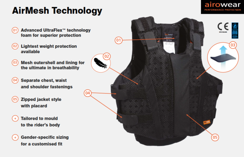 Teen Airmesh Body Protector - Grey image #2