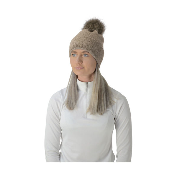 HyEquestrian Alaska Two Tone Diamante Bobble Hat image #5
