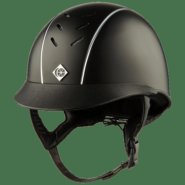 AyrBrush with Pinstripe - Black & Silver
