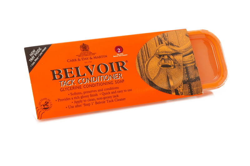 Belvoir Conditioning Tack Soap - Twin Pack image #1