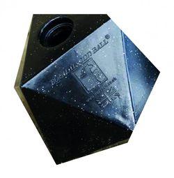 Treat Ball - Black Glitter