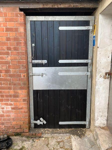 Metal Galvanised Frame & Custom Painted Stable Door image #1