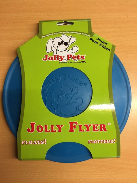 Jolly Flyer Dog Toy Blue 9'5''