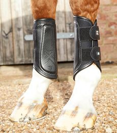 PREMIER EQUINE Carbon Air-Tech Double Locking Brushing Boots