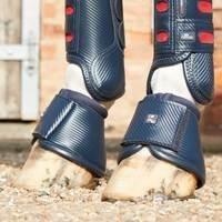 PREMIER EQUINE Carbon Wrap Over Reach Boots