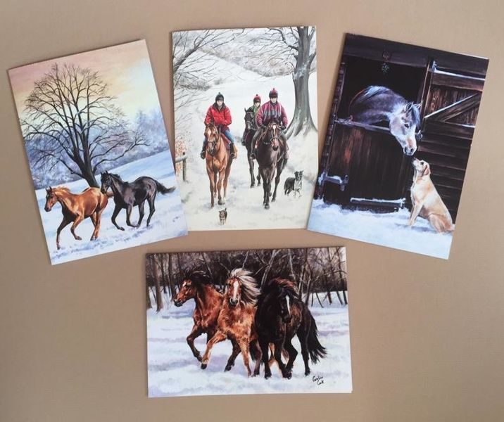 Caroline Cook Christmas Cards Pack of 8
