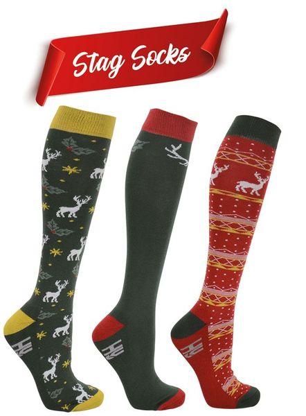 Stag socks (pack of 3)