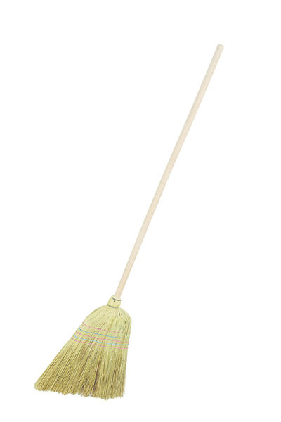 Medium 279mm Corn Broom with Handle image #1