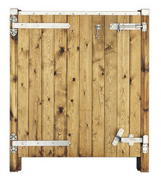 "48 3/8"" Deluxe Bottom Half Stable Door"
