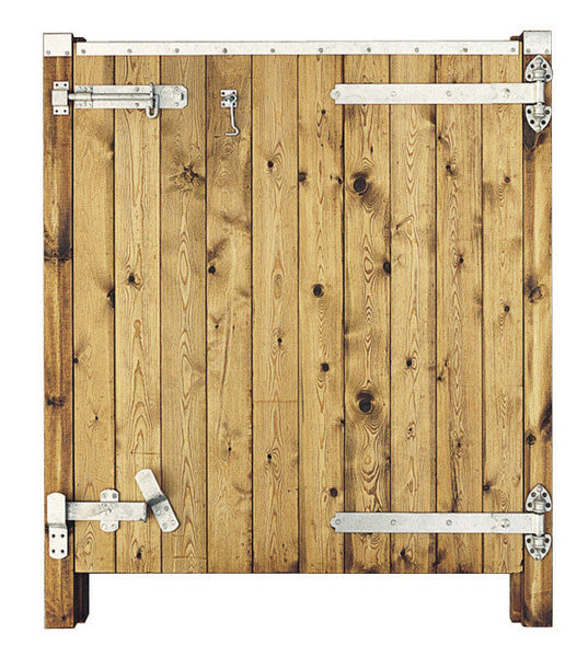 43ins Deluxe RH Hung Bottom Half Stable Door