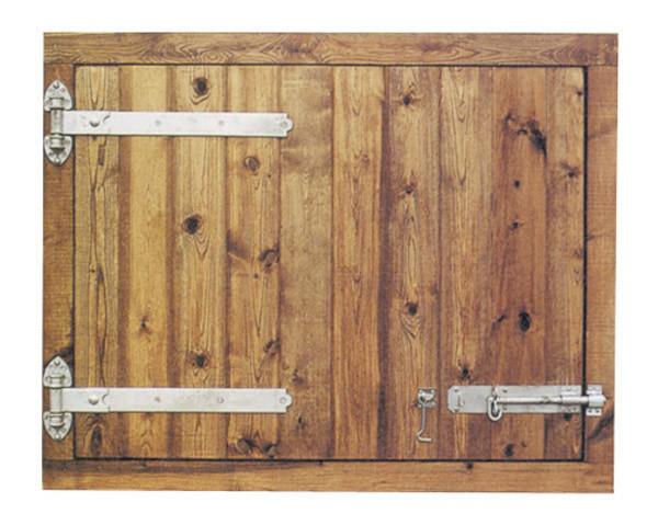 43ins Deluxe RH Hung Hayloft Door