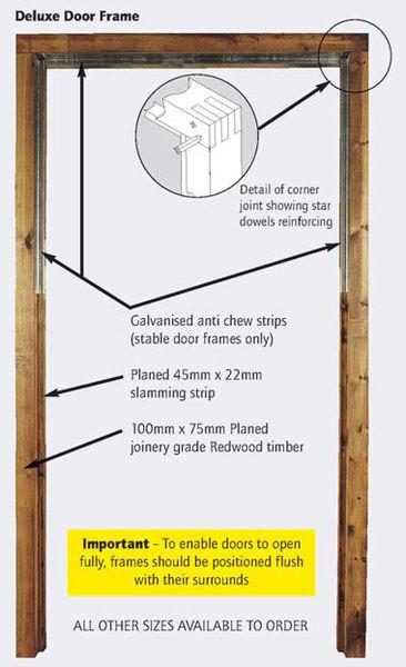 Deluxe Stable Door Frame image #2