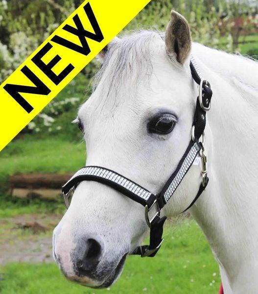 Diamante Padded Headcollar - Pony image #1