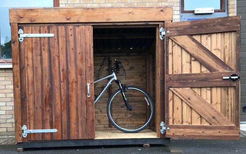 Timber Framed Garden Store image #3