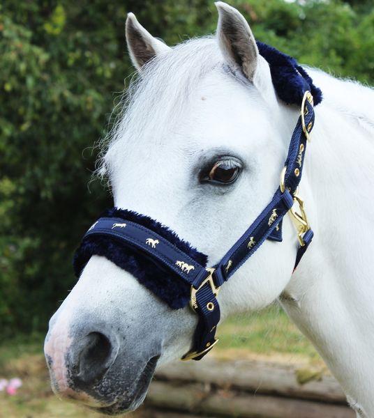Fluffy Headcollar - Pony  image #1