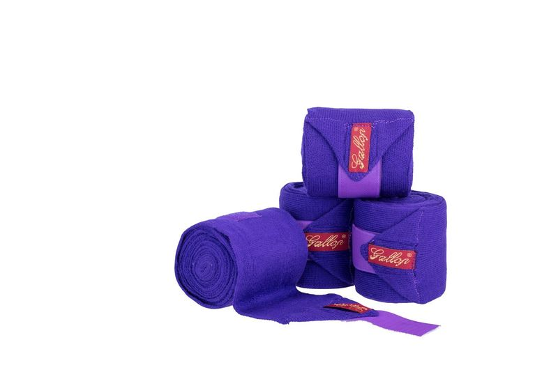 Gallop Knitted Bandages Purple