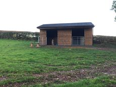 Double Field Shelter 24ft x 12ft