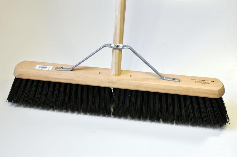 Industrial Stiff 610mm Platform Broom with Handle image #2