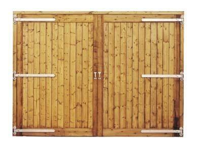 Barn Doors 120.08ins x 114.96ins high