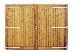 Barn Doors 120.08ins x 114.96ins high