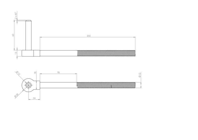 Hook to Bolt (Various Sizes) image #2