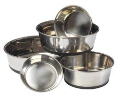 House of Paws Stainless Steel Dog Bowl