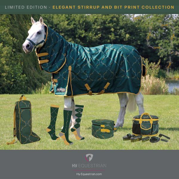 HyEQUESTRIAN Elegant Stirrup & Bit Hat Bag image #3