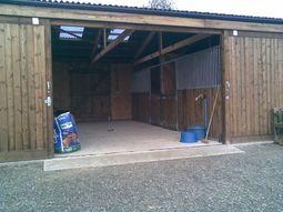 American Barn Timber Frame