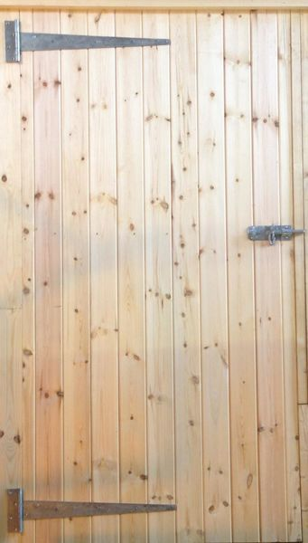 34ins Standard LH Hung Tack Room Door