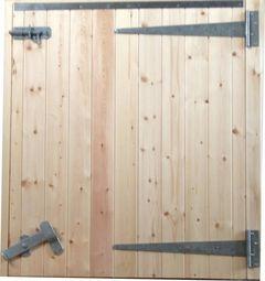 48 3/8ins Standard RH Hung Half Stable Door