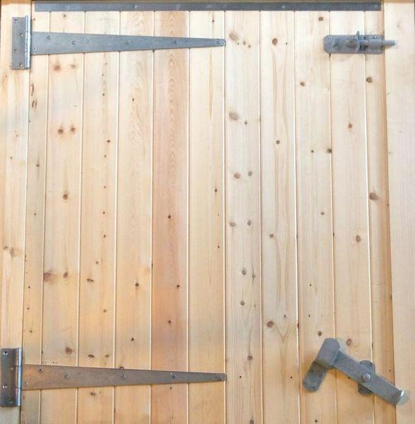 48 3/8ins Standard LH Hung Half Stable Door