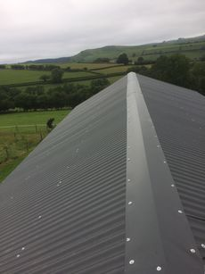 Metal Corrugated Roofing with Anti Condensation Lining