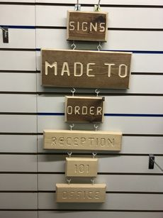 Personalised Signs - Made to order