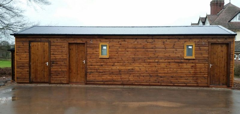 Toilet and Shower Block image #1