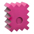 Pole Block (pink)