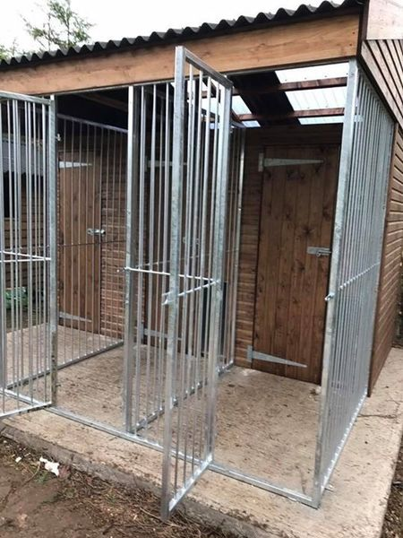 Double Dog Kennel With Store Room image #2