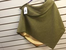 Mary Tweed Collar Short Cape
