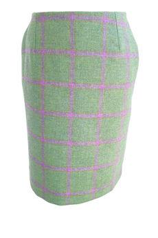 Mimi Tweed Pencil Skirt