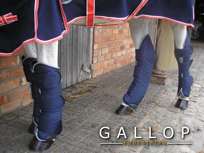 Gallop Travel Boots - Navy image #2